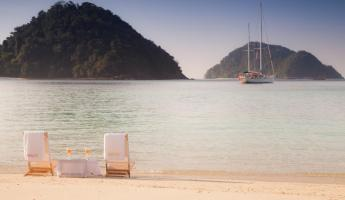 Beach relaxation in the Mergui Archipelago