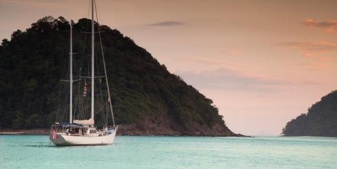 Sailing the Mergui Archipelago