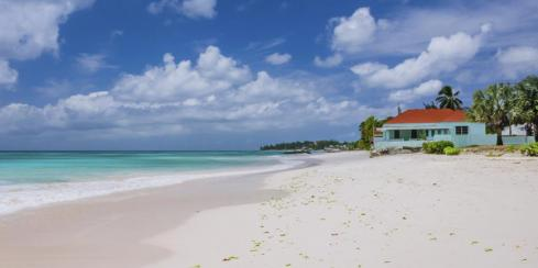 White Sand Beach in Barbados