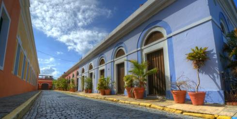 The charming streets of Colonial Caribbean