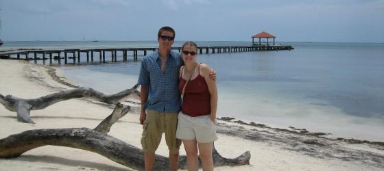 Beach day in Belize!