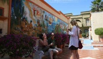 Ice cream break in Todos Santos