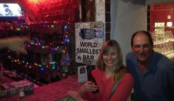 World's Smallest Bar in Cabo San Lucas
