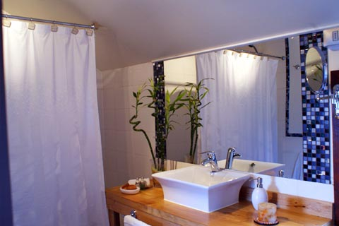 Bathroom at Casa Kalfu
