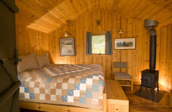 Cozy cabins at Camp Denali. Photo Courtesy of Camp Denali