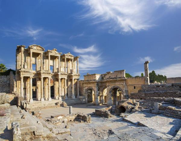 The ancient library at Ephesus