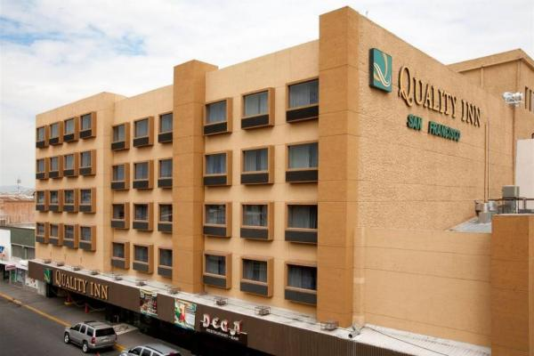 The centrally located Quality Inn Chihuahua