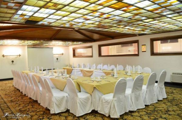 Reserve the event room at the Quality Inn