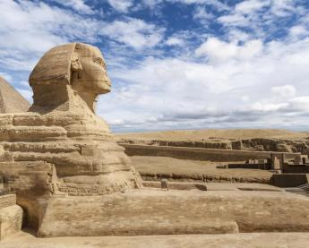 Profile of the Great Sphinx of Giza