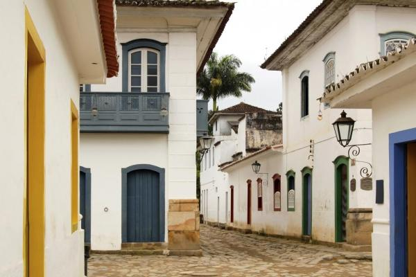 Charming houses in Paraty