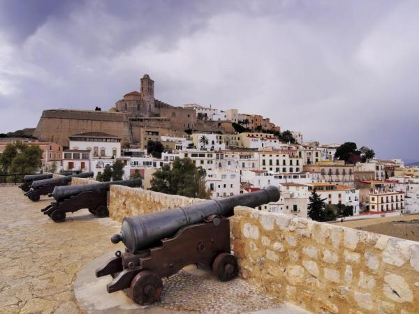 Ruins of the fort of Ibiza