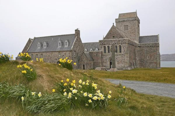 Iona Abbey on the Isle of Iona