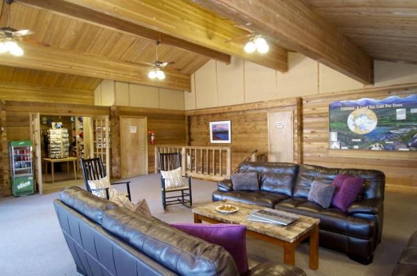 Lounge at Denali Backcountry Lodge