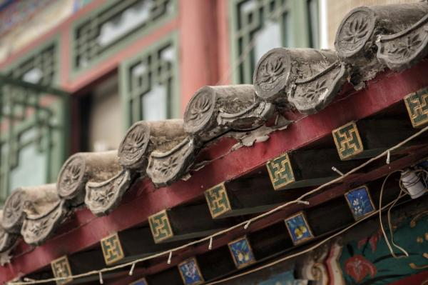 Old architectural detail from the Hutongs of Beijing