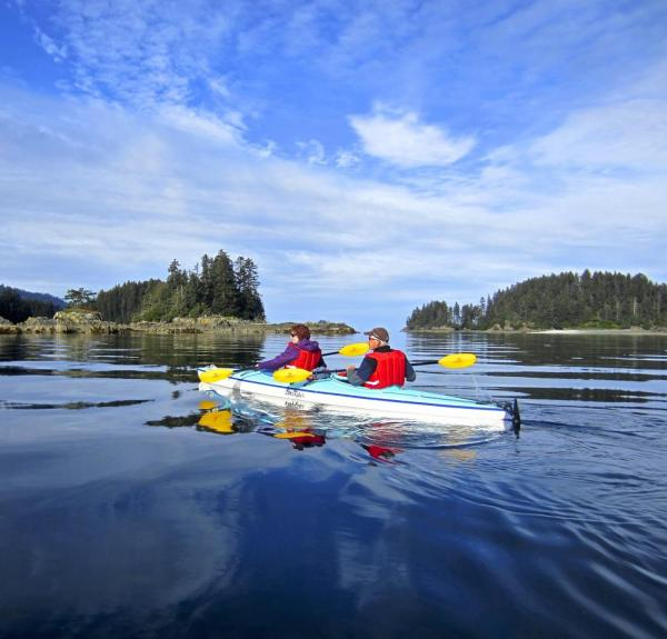 Tutka Bay kayaking in Kachemak Bay