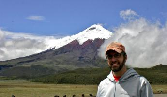 Ryan at Cotopaxi