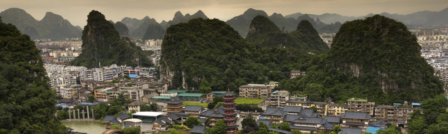 View over Guilin