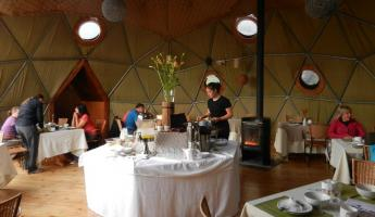 Dining Dome at EcoCamp