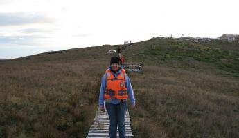 Hiking to Cape Horn