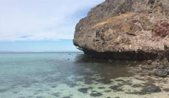 Hiking along the Sea of Cortez