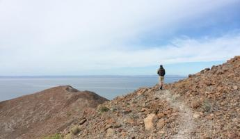 Hiking off the Sea of Cortez