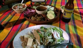 gourmet fish tacos along the Malecon
