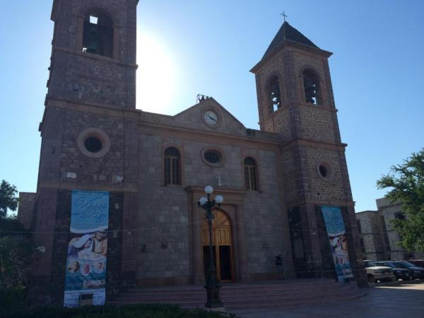 Cathedral in La Paz