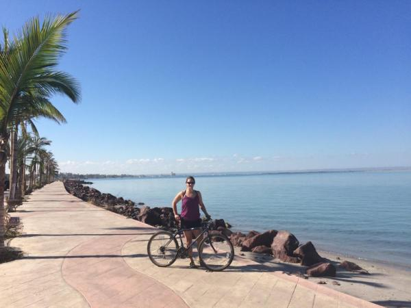 Biking along the Malecon