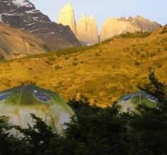 Las Torres from EcoCamp at sunrise