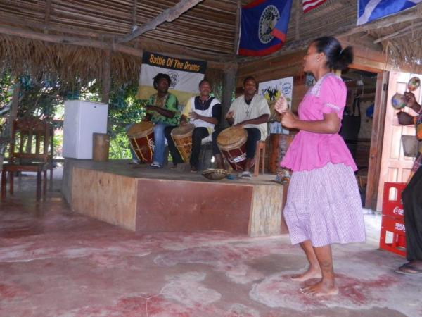 Traditional music in Belize
