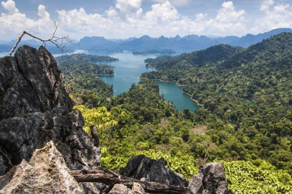 Cheow Lan Lake in Khao Sok National Park