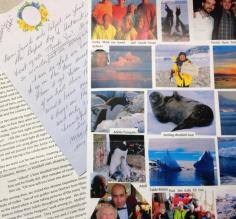 Traveler letters and photos