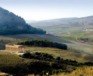 The countryside of Segesta