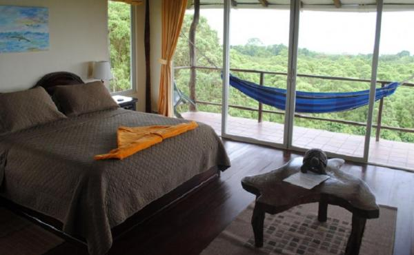 Spacious Executive Double Room with an inviting hammock