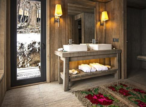 Bathroom at Awasi Patagonia