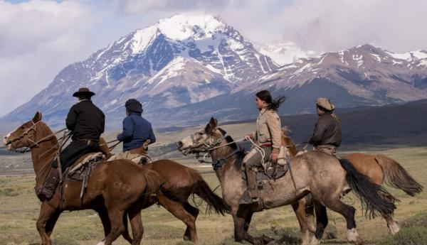 Horseback riding in Patagonia