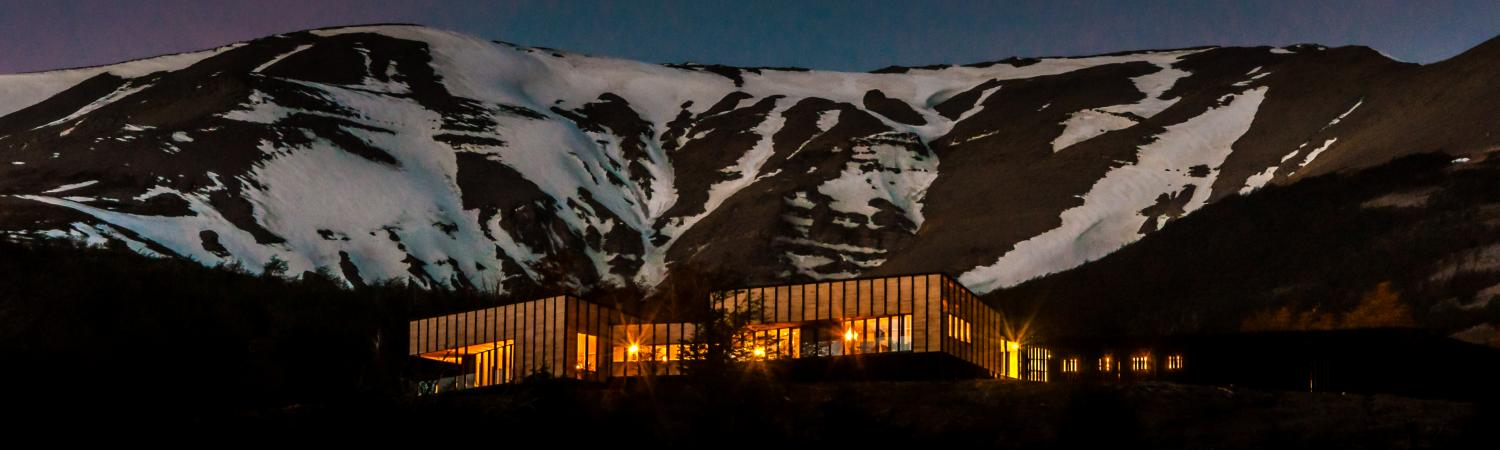 Awasi Patagonia at night