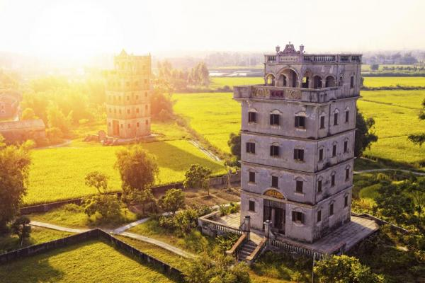 Kaiping Diaolou and Villages, UNESCO Heritage Site
