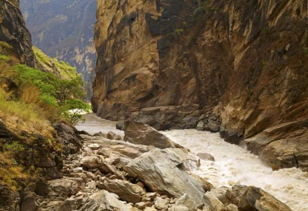 Tiger Leaping Gorge. Yunnan Province
