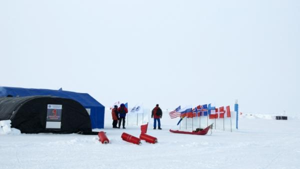Barneo Ice Camp