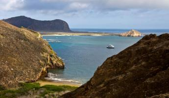 Sailing around the Galapagos Islands