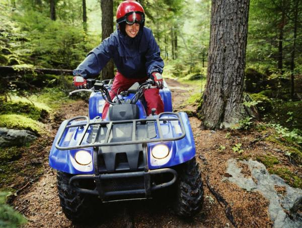 ATV ride through the rainforest