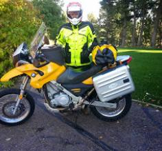 Me and my BMW650 GS