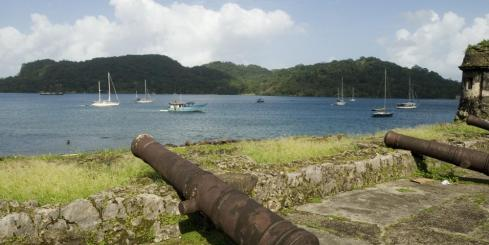 An old fort of Panama