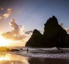 Sunset at Fernando de Noronha