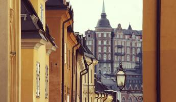 City view of Stockholm, Sweden