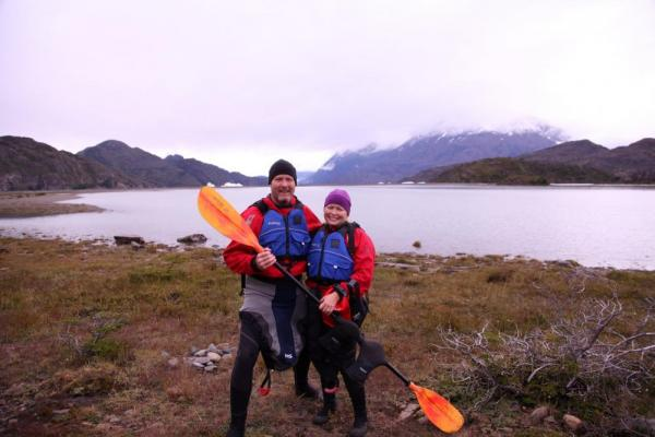 Adventures in Patagonia! Ready to kayak
