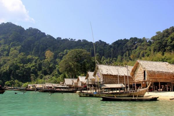 Moken Village on Surin Islands