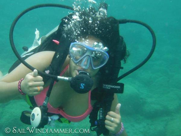 Scuba Diving in the Caribeean