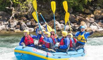 Rafting the Fuy River